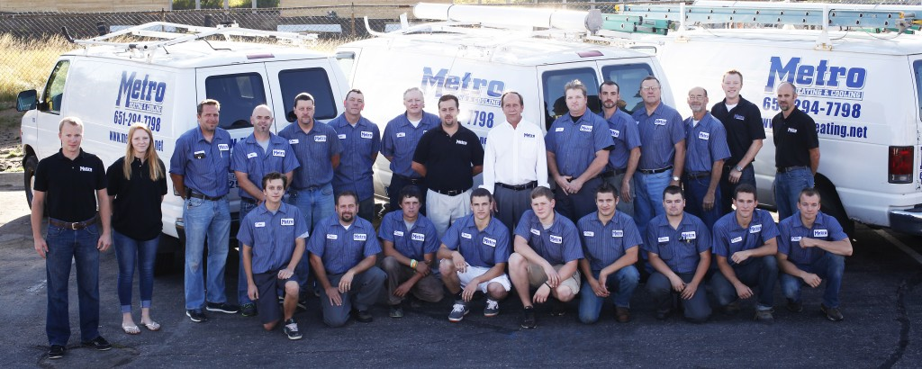 Metro Heating & Cooling Team