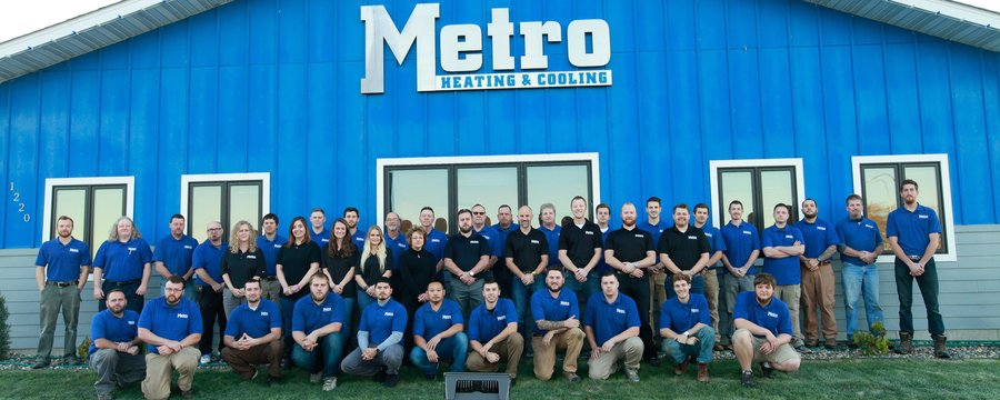 metro heating team photo