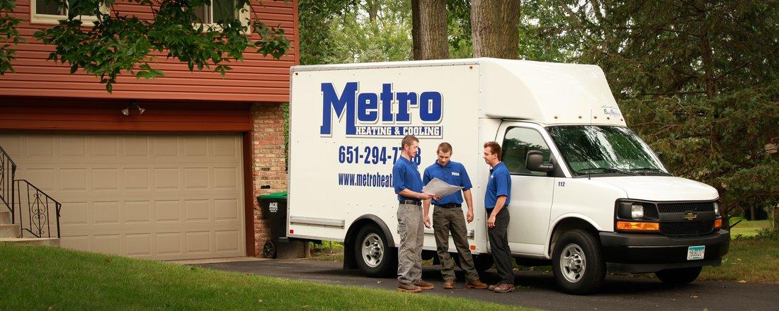 metro heating team members